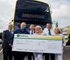 Dublin Bus employees donate €1000 award to Cardiac Risk in the Young
