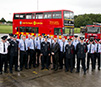 Dublin Bus donates double decker bus to Dublin Fire Brigade
