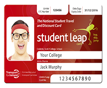Student Leap Card 2016