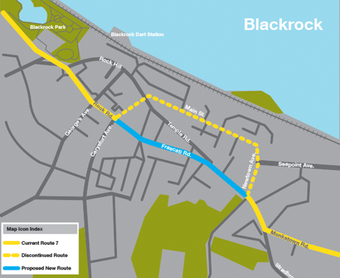 Routes 7 7c And 45a Network Review Dublin Bus