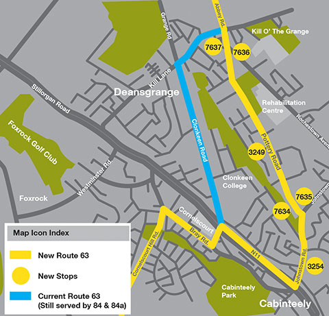 Route 63 map