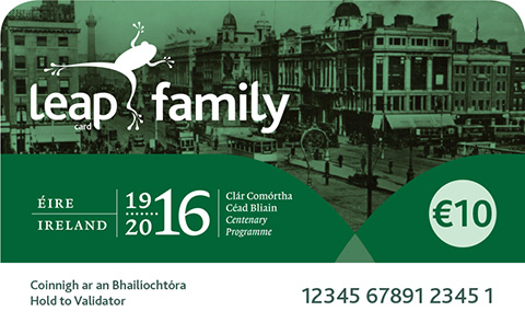 Leap Family Card