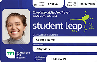 Student Travel Card 2018