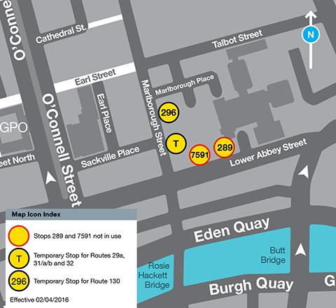 Abbey Street Map